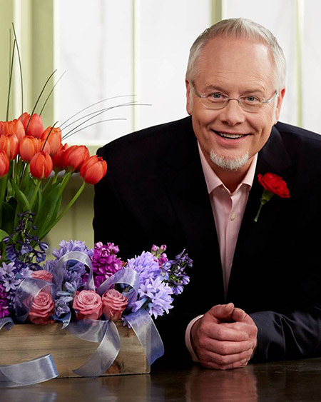J Schwanke, Flower Expert coming to Nor-Cal Garden Show