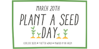 plant a seed day footer